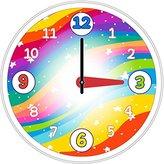 "Stars--12.75"" Children's Wall Clock"