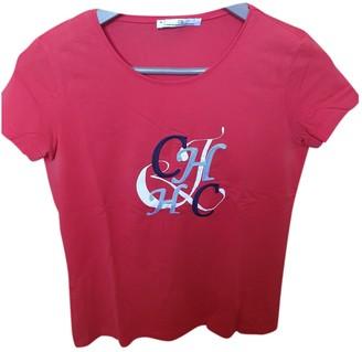 Carolina Herrera Red Cotton Top for Women