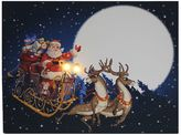 Kurt Adler Lighted Santa Christmas Wall Decor