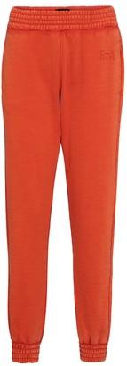 RtA Sydney cotton jersey trackpants