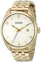 Nixon Women's 'Bullet, White' Quartz Stainless Steel Automatic Watch, Color:Gold-Toned (Model: A418-508-00)