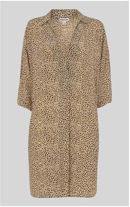 Whistles Mini Leopard Print Lola Dress