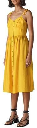 Whistles Sabrina Tie-Shoulder Sundress
