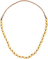 Ranjana Khan Antique Round Bead Necklace