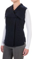 Woolrich Hannah Cable Sweater Vest (For Women)