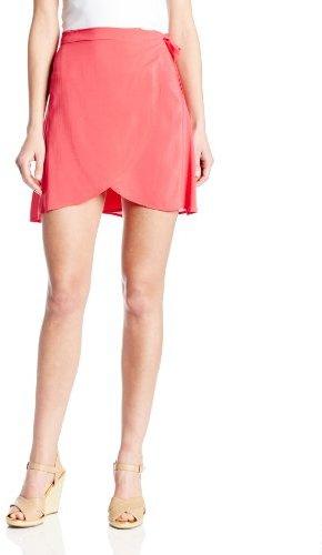 BCBGeneration Women's Wrap Mini Skirt