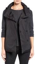 Eileen Fisher Women's Weather Resistant Stand Collar Down Vest