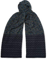 Missoni Patterned Cotton Scarf