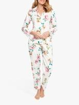 Cyberjammies Nora Rose By Nora Rose by Lydia Floral Print Pyjama Set, Pink/Multi