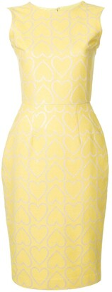 Bambah Hearts Pencil Dress