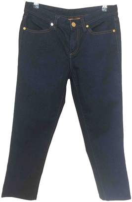 Tory Burch Blue Cotton - elasthane Jeans for Women