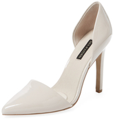 Ava & Aiden Signature Pointed-Toe D'Orsay Pump