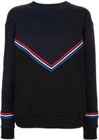 Être Cécile chevron boyfriend sweatshirt