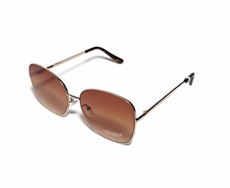 Vince Camuto Women's Vc904 Vintage UV Protective Square Metal Sunglasses | All-Season | A Gift of Standout Style 59 mm