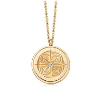 Astley Clarke Celestial Compass Locket Necklace
