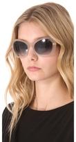 Marc Jacobs Oversized Geometric Sunglasses