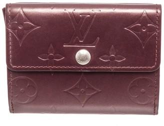 Louis Vuitton Purple Monogram Mat Vernis Leather Ludlow