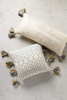 Anthropologie Tasseled Pointilliste Pillow