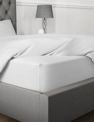 Marks and Spencer Egyptian Cotton 400 Thread Count Extra Deep Fitted Sheet