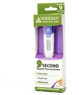 Veridian Healthcare 9-Second Flex Tip Digital Thermometer