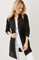 J. Jill Linen Button-Front Tunic
