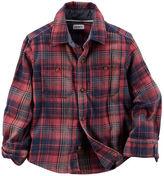 Carter's Plaid Twill Button-Front Shirt