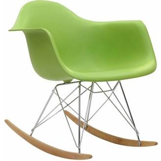 VIP Modway Rocker Kids Contemporary Lounge Armchair, Multiple Colors