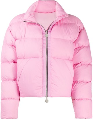 Ienki Ienki Cropped Puffer Coat