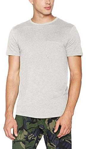 Tom Tailor Men's Crewneck Tee with Pocket T-Shirt,Small