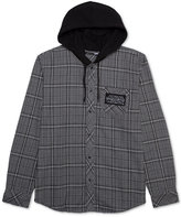 JEM Men's Star Wars Plaid Flannel Hoodie