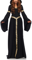 Leg Avenue Black & Gold Pagan Witch Costume Set - Women