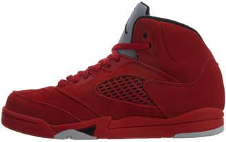 Jordan Nike 5 Retro Leather Sneaker