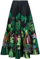Manish Arora Safari embellished full skirt