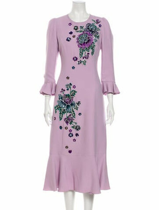Andrew Gn 2019 Long Dress w/ Tags Purple