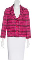 Kate Spade Tweed Plaid Blazer
