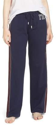 Tommy Hilfiger Satin Trim Pajama Pants