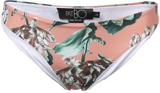 PatBO Botanica print bikini bottom