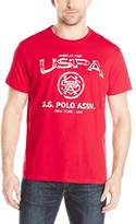 U.S. Polo Assn. Men's Crew Neck USPA Graphic T-Shirt