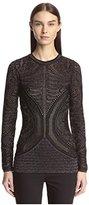 Just Cavalli Women's Shimmer Knit Pullover