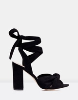 Forever New Cara Knot Vamp Ankle Tie Heels