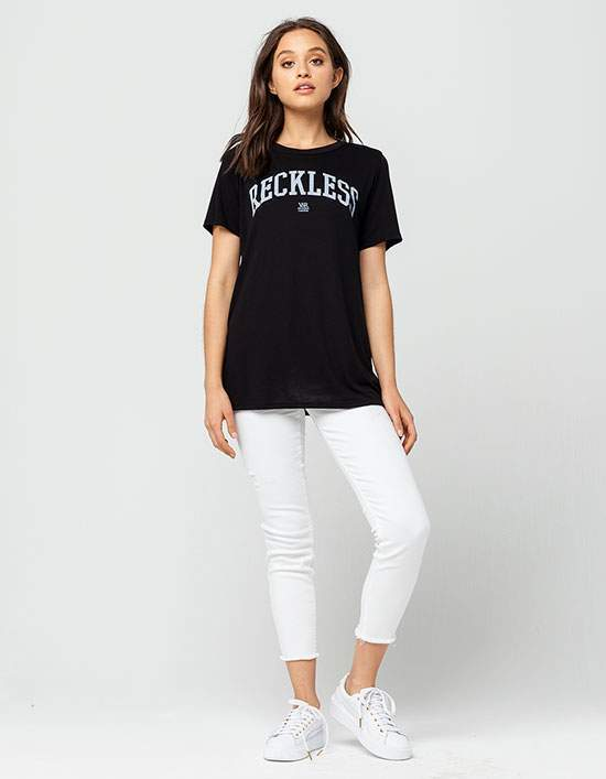 Young & Reckless Reckless Womens Boyfriend Tee
