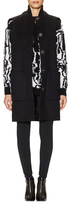 Balenciaga Sleeveless Wool Coat