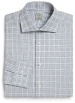 Ike Behar Regular-Fit Plaid Dress Shirt