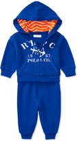 Ralph Lauren French Terry Hoodie & Pants Set, Baby Boys (0-24 months)