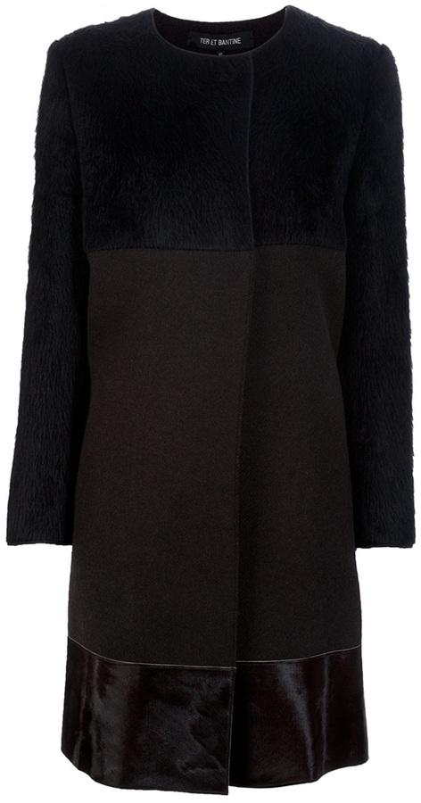 Ter Et Bantine Round neck coat