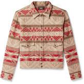 Rrl Cotton And Wool-Blend Jacquard Overshirt