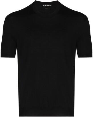 Tom Ford Crew-Neck Short-Sleeve Jumper