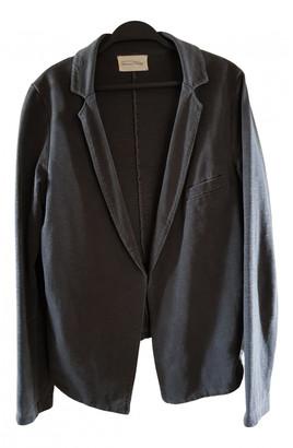 American Vintage Grey Cotton Jackets