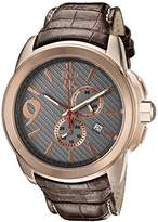 Jivago Men's JV1512 Gliese Analog Display Swiss Quartz Brown Watch