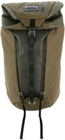 Diesel large backpack - men - Cotton/Leather/Nylon - One Size